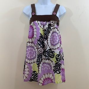Piper & Blue Sleeveless Floral Shirt  NEW  Size L
